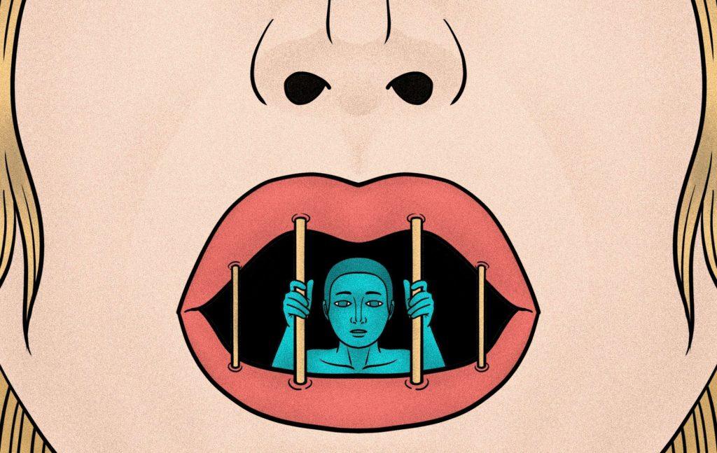 """Το """"πάγωμα λόγου"""" αναφέρεται στην επίδραση που μπορεί να έχει ένας περιορισμός του λόγου όπως, η απειλή μεγάλων αποζημιώσεων για συκοφαντική δυσφήμηση στην ελεύθερη έκφραση."""
